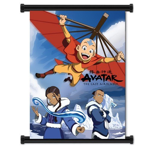 Nickelodeon Avatar the Last Air Bender Cartoon Fabric Wall S