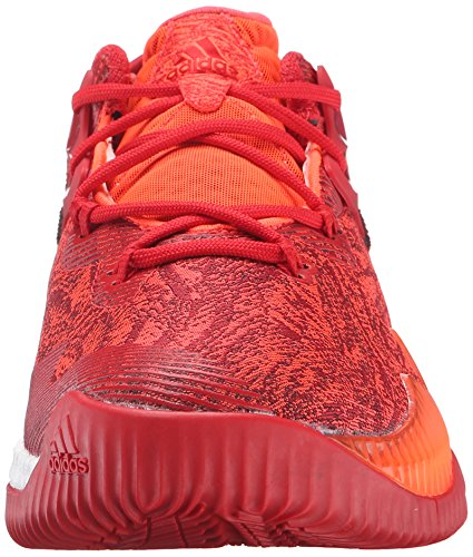 adidas Performance Herren Crazylight Boost Low 2016 Basketballschuh Solar Rot / Hell Scharlachrot / Infrarot