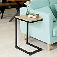 SoBuy® fbt44-n mesa auxiliar baja moderna para sofá o cama: Amazon ...