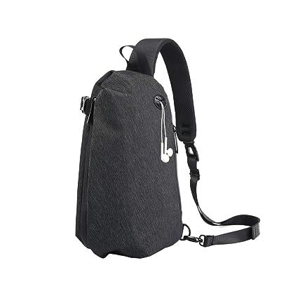9cf622be900b Geisofu Travel Sling Bag Anti Theft Casual Daypack Crossbody Lightweight  Backpack Outdoor Shoulder Chest Bag for Men Women