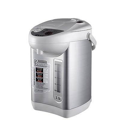YYY Bouteille d'eau électrique isolant maison électrique bouilloire 304 en acier inoxydable anti-échaudage hors de l'eau bouilloires électriques 3L 750W