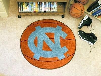 Fanmats UNC University of North Carolina - Chapel Hill Basketball Rug