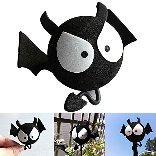 Halloween Wholesale Uk (Big Eyes BAT Evil Aerial Ball Car Antenna Topper For Car Truck SUV Decor Balls)