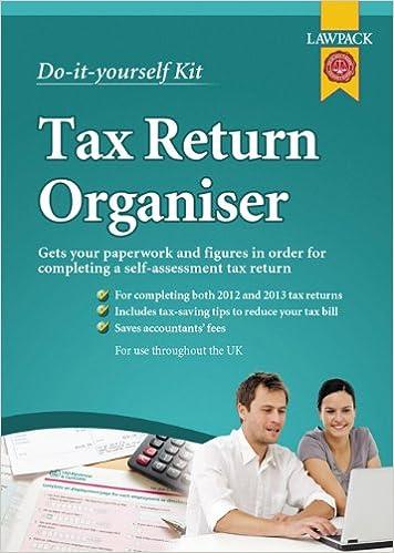 Tax return organiser kit do it yourself kit amazon h m tax return organiser kit do it yourself kit amazon h m williams chartered accountants 9781909104020 books solutioingenieria Gallery