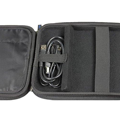 iGadgitz Black EVA Travel Hard Case Cover Sleeve for External USB DVD CD Blu-Ray Rewriter / Writer by igadgitz (Image #4)