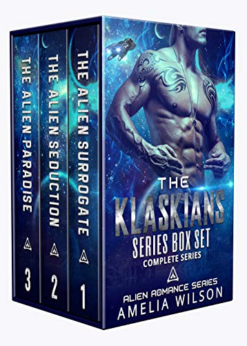 The Klaskians Series Box Set: Alien Romance Series
