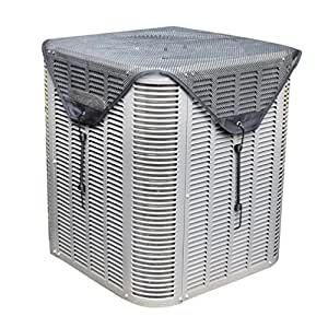 Sturdy covers ac defender all season air conditioner cover for complete protection for Central air conditioner covers exterior