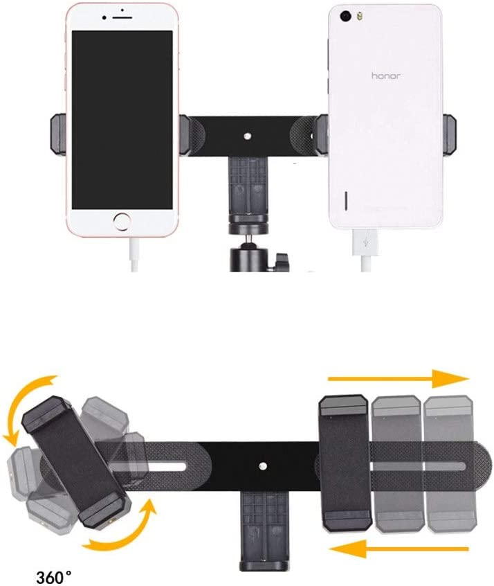 Suitable for Video Recording Artifact Taobao Live Color : B XG Inc Macro /& Ringlight Flashes Dual Mobile Phone Live Bracket,Anchor Multi-Function Fast Outdoor//Indoor Landing Tripod