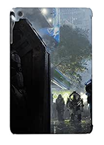 New Eatcooment Super Strong Futuristic Soldier Hiding From The Police Tpu Case Cover Series For Ipad Mini/mini 2