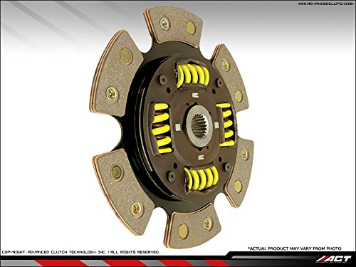 ACT 6224218 6-Pad Sprung Race Clutch (Pad Spring Race Disc)