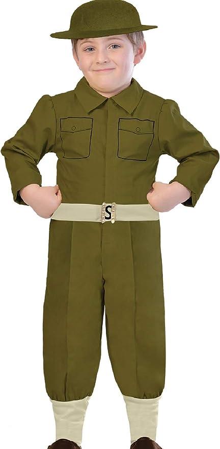 Fancy Me Disfraz de Soldado Militar Uniforme Militar histórico de ...