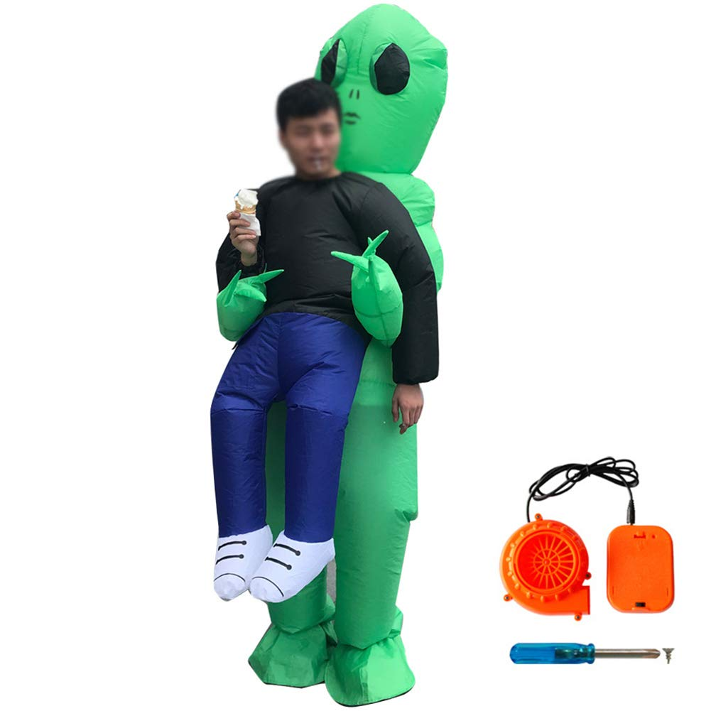 BOFEISI Inflable Blow Up Traje Cosplay Adulto Halloween ...