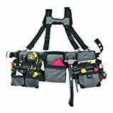 Bucket Boss 55185 Three Bag Framers Rig, Grey