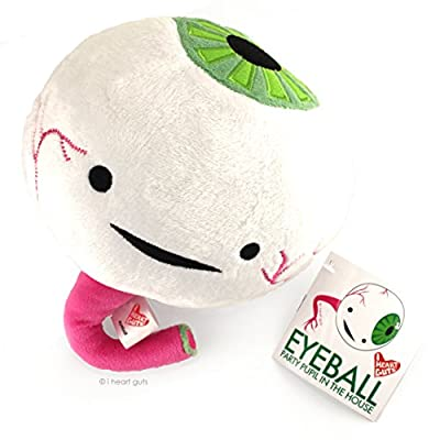 I Heart Guts Eyeball Plush - Party Pupil in the House! - 10