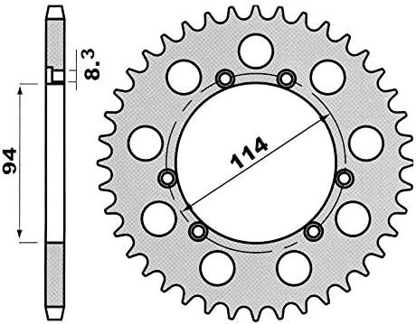 Corona z=40 Montesa Cota Fantic Section 250