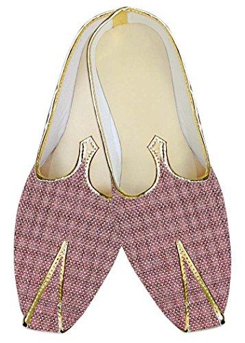 Boda MJ014141 Zapatos INMONARCH Ciruela Hombres Bollywood Pqw47x6n