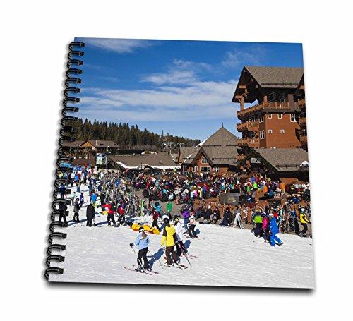 3dRose USA, Colorado, Breckenridge, Ski Lodge, Peak 8-Us06 Wbi0086-Walter Bibikow-Memory Book, 12 by 12