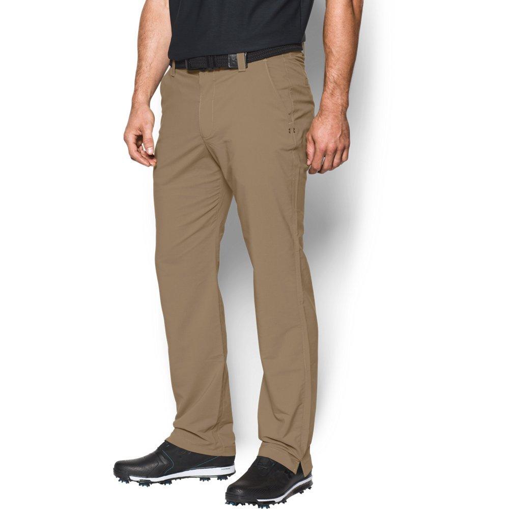 Under Armour Men's Match Play Golf Pants, Canvas (254)/Canvas, 30/30