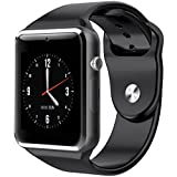 JOKIN Bluetooth A1 - Touch Screen Smart Wrist Watch Phone with SIM Card Slot Camera Pedometer Sport Tracker for iOS iPhone Android and Smartphones