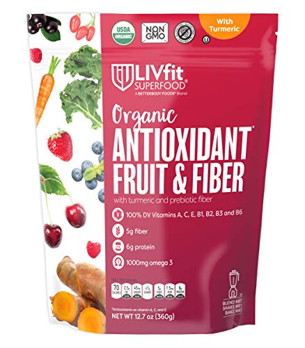 BetterBody Foods Organic Antioxidant Fruit and Fiber Superfood Blend, 12.7 Ounce