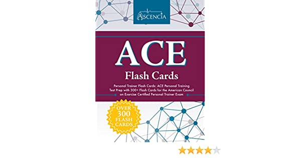 Amazon.com: ACE Personal Trainer Flash Cards: ACE Personal Training ...