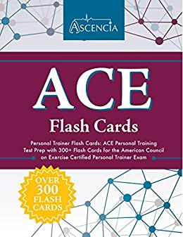 Amazon ace personal trainer flash cards ace personal training ace personal trainer flash cards ace personal training test prep with 300 flash cards fandeluxe Gallery