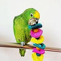 Saver 20cm pájaro esponja vegetal periquito periquito juguete