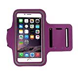 For iphone 6s 4.7Inch, Mchoice Armband Gym Running Sport Arm Band Cover Case for iphone 6s 4.7Inch (Purple)