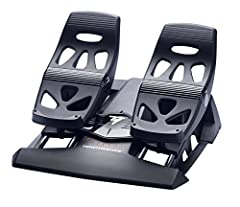 You're cleared for immediate takeoff! The Thrust master TFRP Flight Rudder Pedals are compatible on PC with all joysticks on the market. They are also compatible on PS4 with the Flight Hotas 4 joystick (sold separately). This is the first rud...