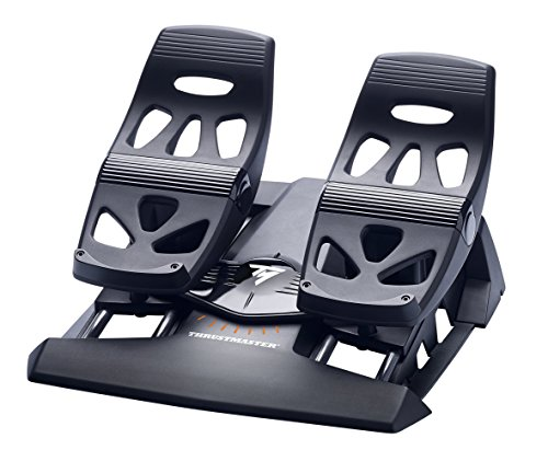 Thrustmaster TFRP Flight Rudder Pedals for PC & Playstation 4 (Pc Combat Flight)