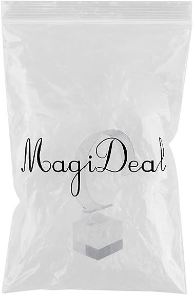 MagiDeal Vitrine Porte Support de Montre Bracelet D/élicat en Acrylique Transparent pour Rangement de Bijoux