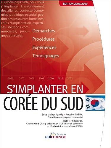 En ligne téléchargement S'implanter en Corée du sud pdf, epub