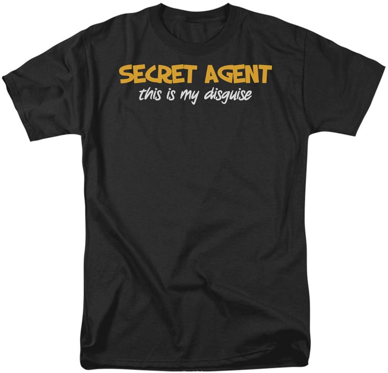 Funny Tees - Mens Secret Agent T-Shirt