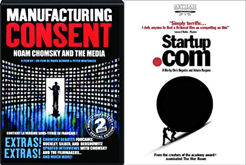 Media and Social Networking and Its Repercussions - Manufacturing Consent: Noam Chomsky and the Media (2-DVD Set) & Startup.Com 2-Documentary Bundle