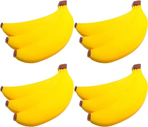887ecc7ff63ef Amazon.com: Four (4) of Banana Rubber Charms for Wristbands and ...