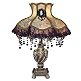 22'' H Laced Jewel Victorian Style Table Lamp