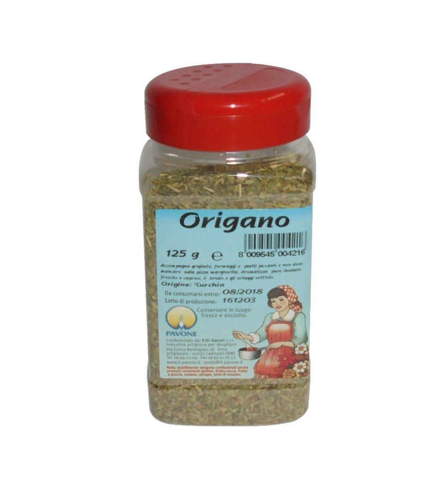 Gr 125 Origano de hojas de dispensador para condire Pizza Margarita Carne y queso: Amazon.es: Hogar