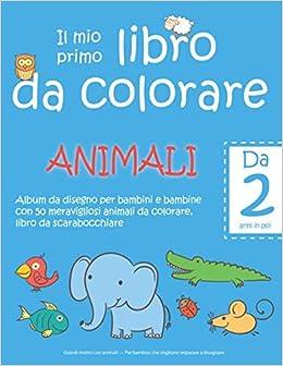 Il Mio Primo Libro Da Colorare Animali Da 2 Anni In Poi Album