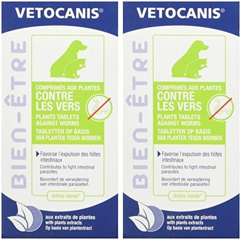 Vétocanis - Comprimés contre les Vers pour Chien