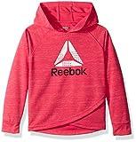 Reebok Big Girls' Hooded Popover, 3028-Pink Glow, 8/10