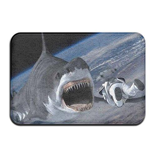 Sharknado 4 The 4th Awakens Rectangle Outdoor Doormat (Sharknado Fin)