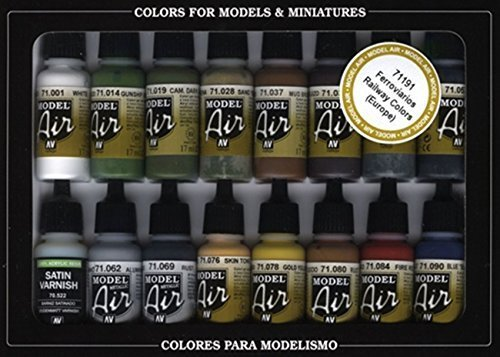 Vallejo RLM Colors Model Air Paint, 17ml