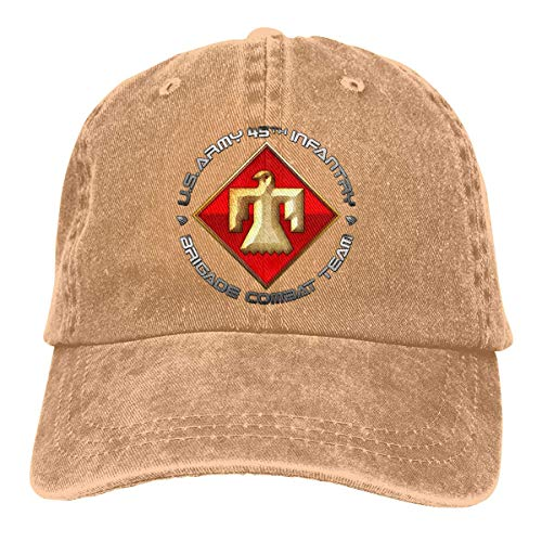 45th Infantry Brigade SSI Vintage Baseball Cap Trucker Hat for Men and Women