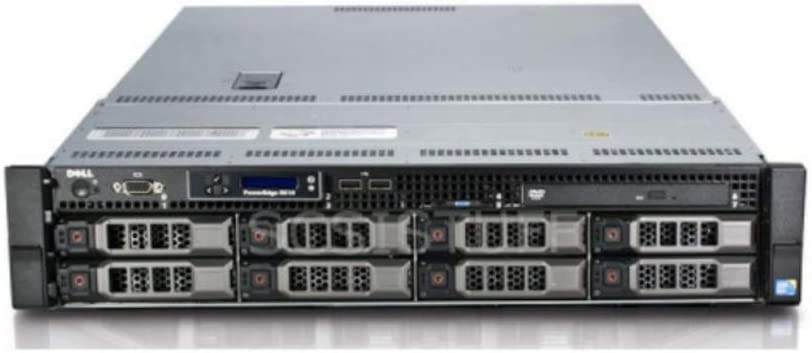 Dell PowerEdge R510 8 Bays 3.5 Server - 2X Intel Xeon L5520 2.26GHz 4 Core - 32GB DDR3 REG Memory - Dell H700 512MB Raid Controller - 24TB (8X 3TB SAS New HDD) - 2X 750w PSU - Rails (Renewed)