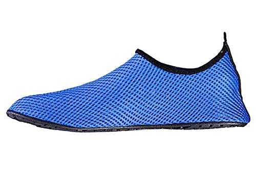 VartikikZ Familie Lüften Aqua Socken Schuhe (Kleinkind / Erwachsener) Blau