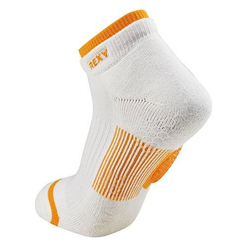 Rexy Functional Balance Women's Golf Low Cut Socks Arrow Mesh Yellow GF6L-11 by Rexy (Image #2)