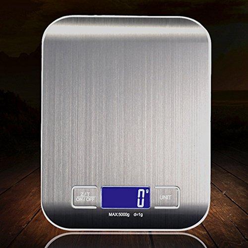 Digital Scales,EBEST SELLER HOT stainless steel Food Scale,mini digital scale Halloween gifts LCD display 11lb 5kg, Silver or (Best Halloween Foods)