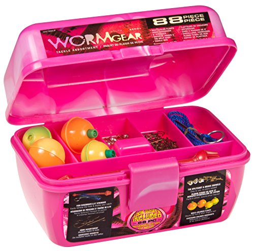 pink fishing tackle box - 6