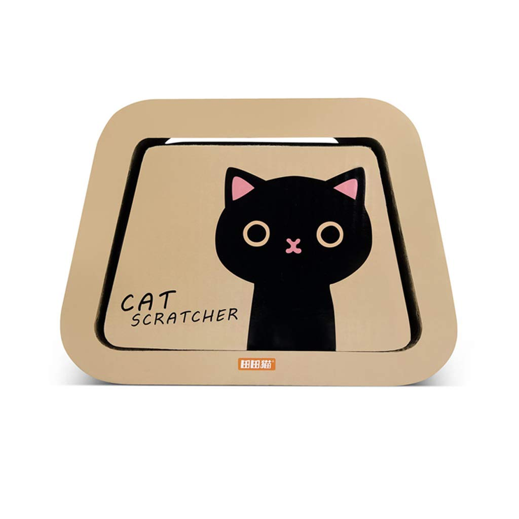 CXQ Cute Creative Black Cat Cartoon Combination Corrugated Paper Cat House Cat Tent Cat Scratch Board Cat Litter Cat Sofa Toy