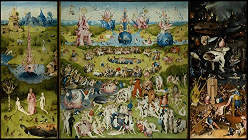 - Laminated 42x24 Poster: Hieronymus Bosch - Hieronymous Bosch, Part 1 The Garden of Earthly Delights gospels